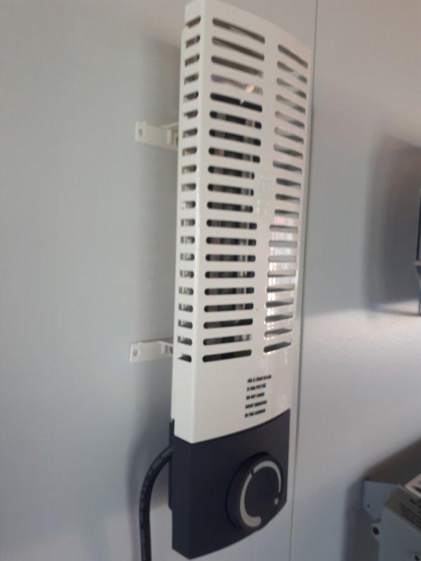 Ideal für Gewächshaus ! Frico FMS200 Miniradiator 200 Watt