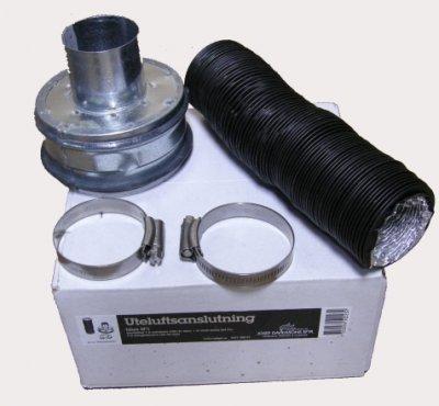 Set Aussenluftanschluss für Idun 1 (51 mm)