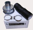 Set Aussenluftanschluss für Davidssons 1896 D 65 mm