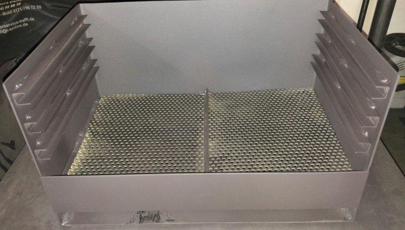 Vulkan Grilleinsatz GE620 Kohlewanne mit Ascheschublade - ohne Grillgitter