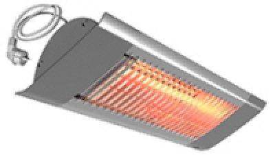 Frico Infrarotstrahler IHC12 Karbon Infrarot Strahler