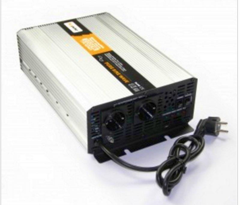 Spannungswandler USV 12V 2000/4000 Watt reiner SINUS - Notstromversorgung für Heizung - PC usw.