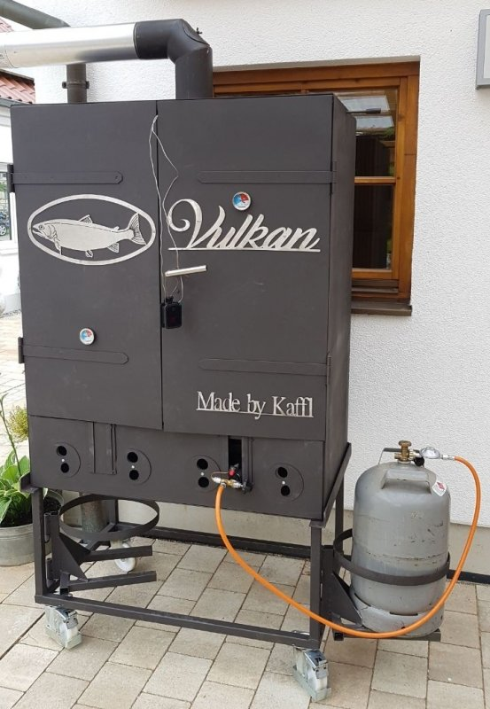 Vulkan Multi XXL  Räuchern - Grillen - Backen