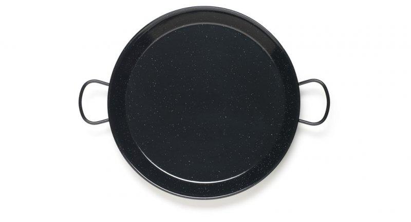 Paellapfanne aus emailliertem Stahl Durchmesser 38 cm