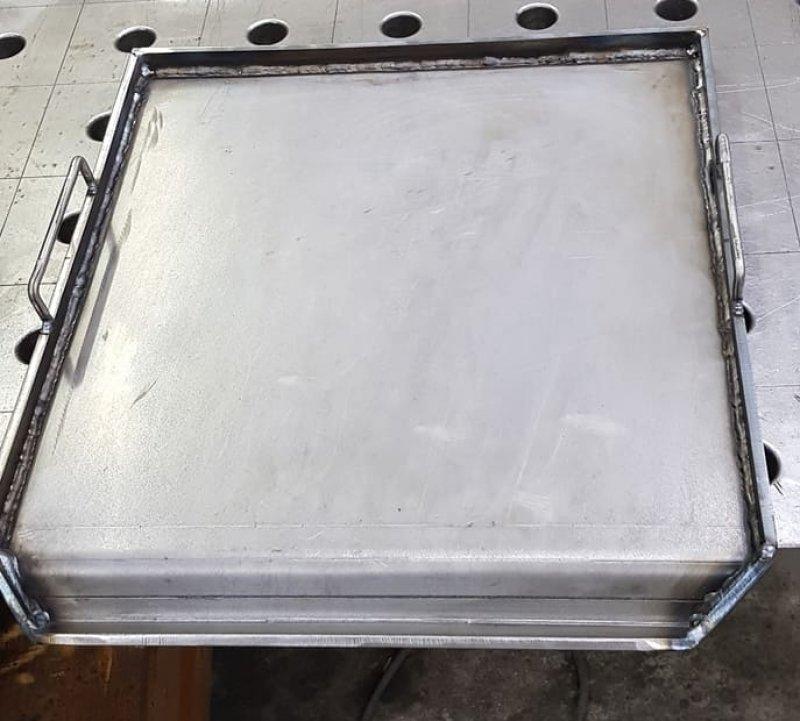 Vulkan Grillpfanne - Grillplatte  auf Mass- aus 6 mm Stahl