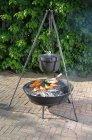 Lagerfeuerschale mit Feuerkessel Edna II 20 Liter